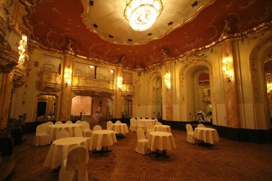 Hotel ball room picture of grand hotel bohemia prague for Grand hotel bohemia prague reviews