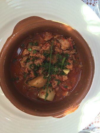 Chez Jules Krepategi : Axoa de veau pommes de terre maison