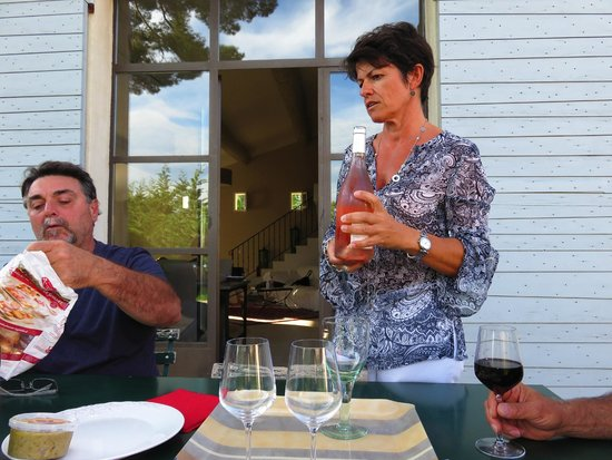 Le Four des Banes : Wine tasting with Laurence