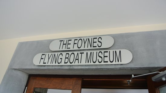 Foynes Flying Boat Museum: Entrance to museum
