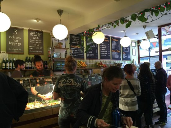 Iydea: Food service and menus