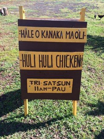 Anahola Hawaiian Land Farmer's Market: Store sign