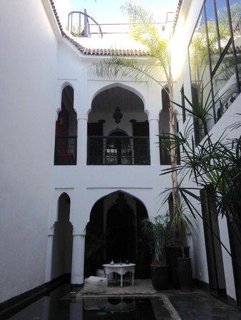 Riad Golfame: La chambre vue de la piscine
