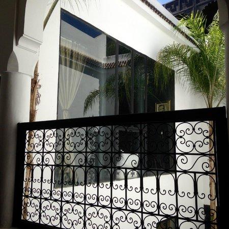 Riad Golfame: Vue du balcon