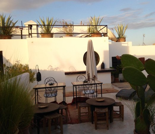 Riad Golfame: Rooftop