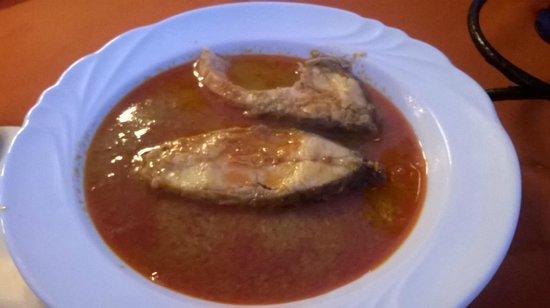 Kisfaludy-ház Restaurant: Halászlé