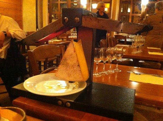 Le Chalet de Neuilly : Raclette