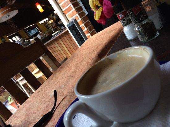 Cafe San Rafael : Great coffee , beautiful place