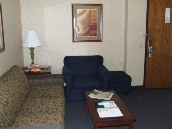 BEST WESTERN PREMIER Park Hotel: Lounge