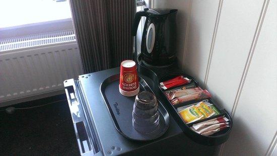 Logement de Gaaper: Thee en koffie zetten op de kamer