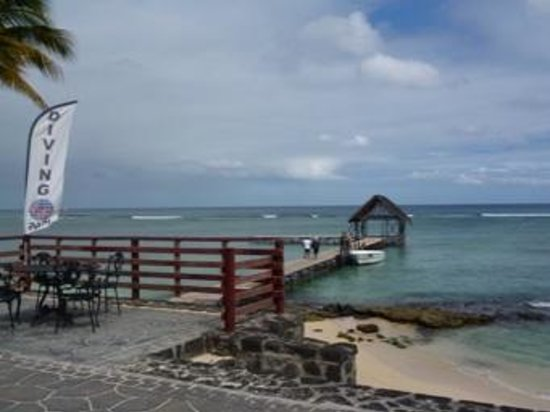 Easy Dive Mauritius: jetty
