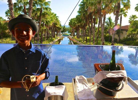 The St. Regis Punta Mita Resort: Sabrage is a family affair