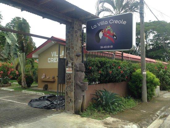 Hotel Villa Creole: Entrance