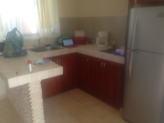 Hotel Villa Creole: Kitchen