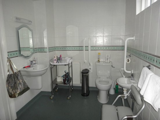 Meadowcroft Country Guest House: fantastic bathroom for the disabled user