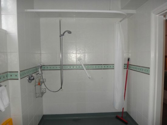 Meadowcroft Country Guest House: disabled friendly shower
