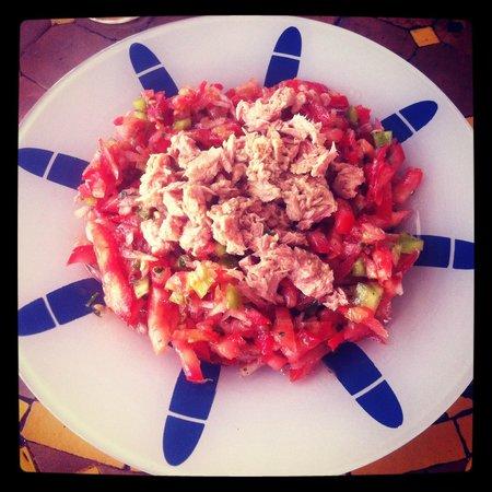Nid'cigogne: Salade Thon Tomate