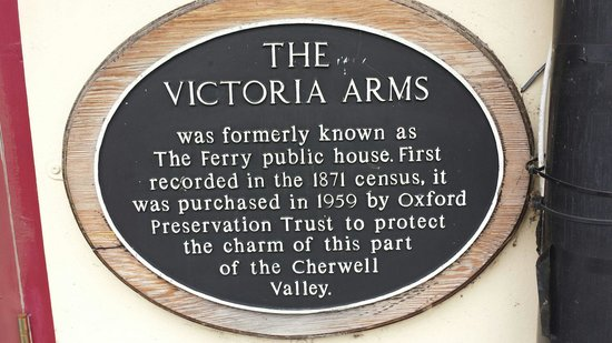 The Victoria Arms: Bit of information