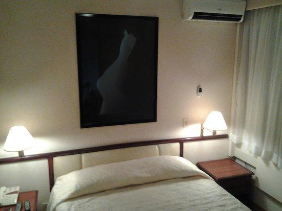 Paulista Wall Street Suites : Quarto