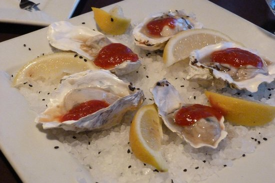 Driftwood Shores Resort & Conference Center : Oysters that are Tasty