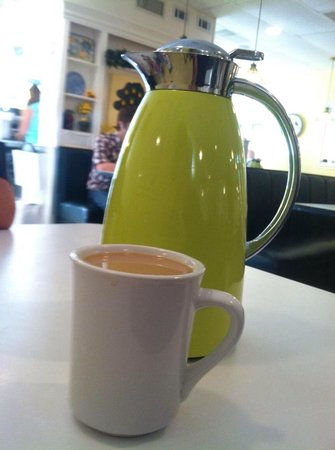 The Lemon Tree : Terrific coffee!