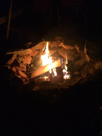 Aska Lodge B&B: Bonfire