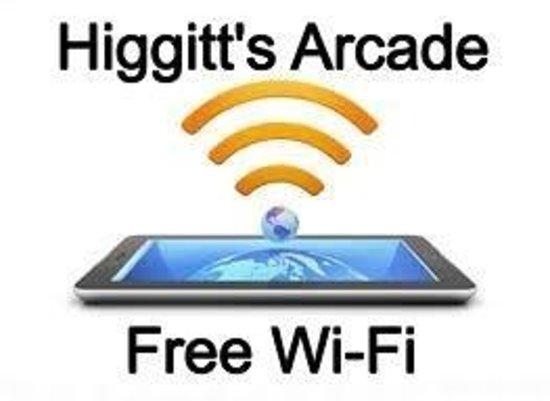 Higgitt's Las Vegas Amusements: Free Wi Fi
