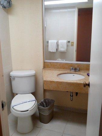 Hotel Aranzazu ECO: Baño limpio y con amenidades