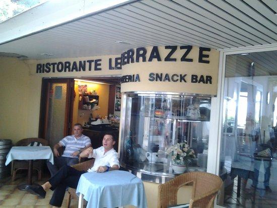 Frente do restaurante - Picture of Ristorante Le Terrazze ...