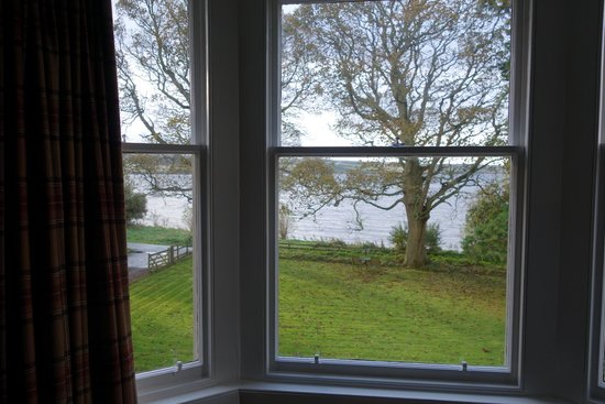Kiltearn House: View from room 2