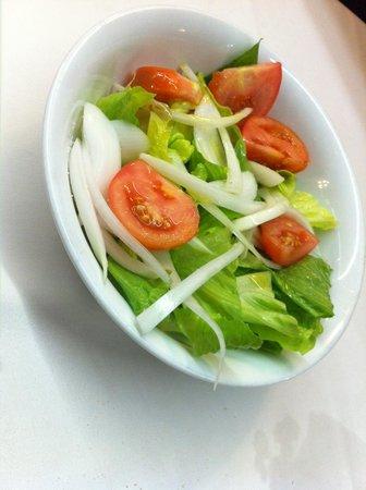 Restaurante Asador El Figon de Recoletos : Ensalada mixta