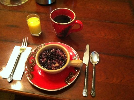 Snow Goose Bed and Breakfast: Breakfast