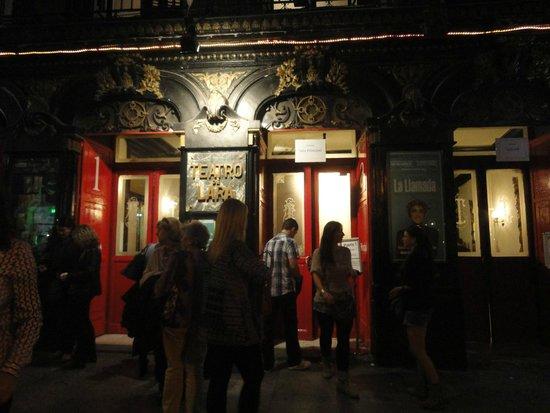 Teatro Lara: entrada