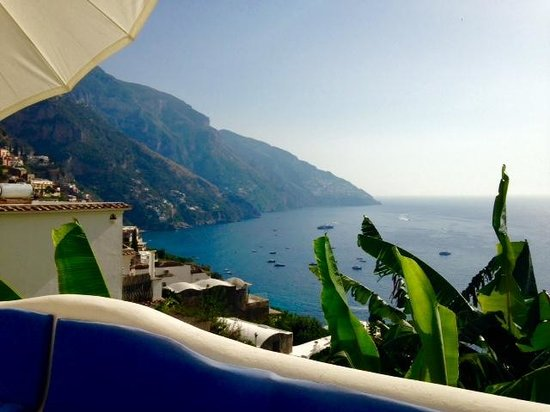 La Casa di Peppe Guest House & Villa: View from terrace where you can enjoy breakfast