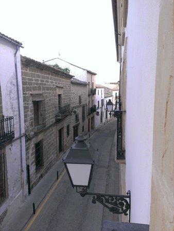 Hotel Sercotel Rosaleda de Don Pedro: Vista desde la ventana
