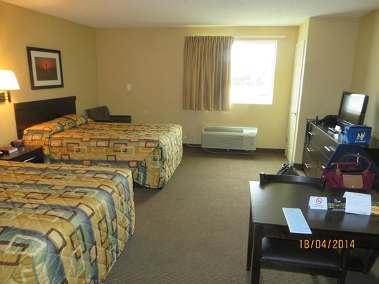 Suburban Extended Stay Hotel Camp Lejeune: bedroom