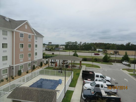 Suburban Extended Stay Hotel Camp Lejeune View From Room