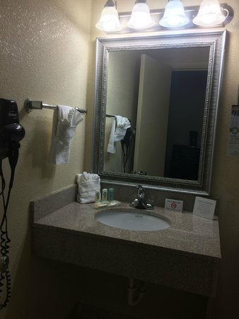 Quality Inn and Suites Airpark East: bathroom