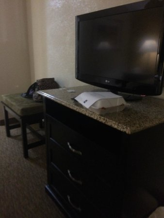 Quality Inn and Suites Airpark East: TV