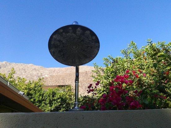 Orbit In: View from your outdoor shower