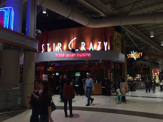 Stir Crazy at the Palisades Mall in West Nyack New York.