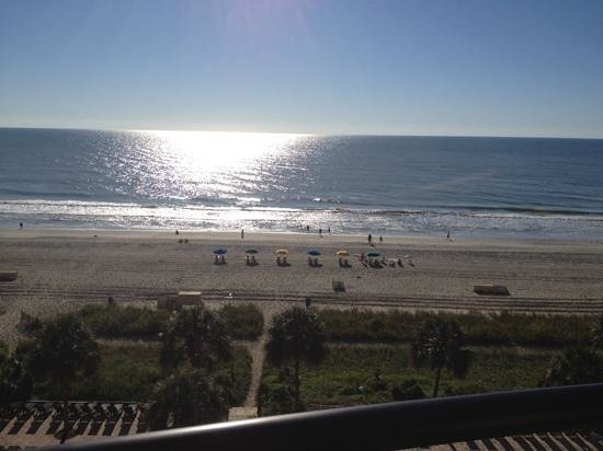 The Breakers Resort: view from the 6th floor