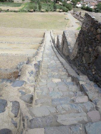 Inca Bridge: Bridge at Ollantaytambo