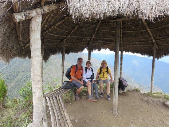 Inca Bridge: closer view