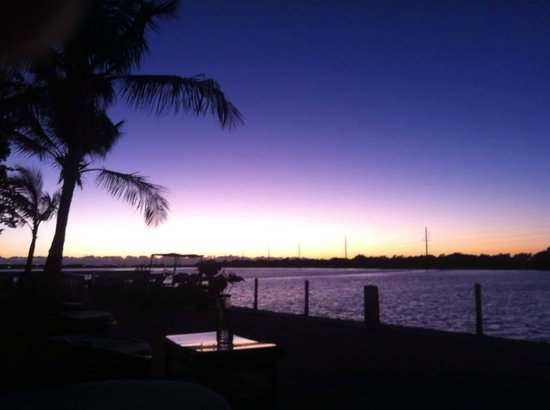 Little Conch Key: Sunset from Tiki Area 10.17.14