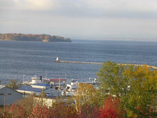 Hilton Burlington: View of Lake Champlain