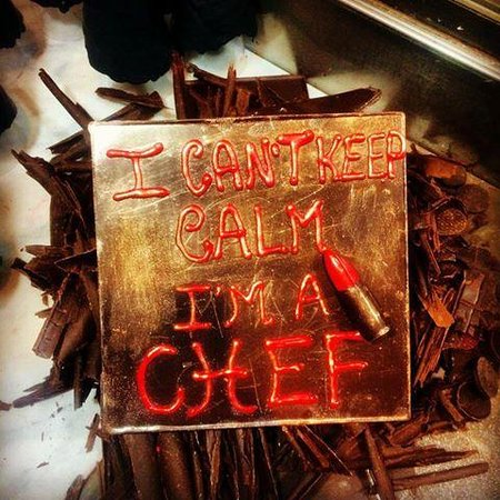 Giapo: I can't keep calm #foodart