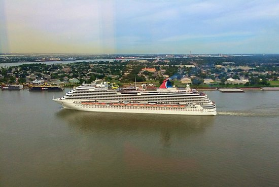 Looking At Cruise Ships Leave The Port Picture Of Hilton New - Cruise ships new orleans