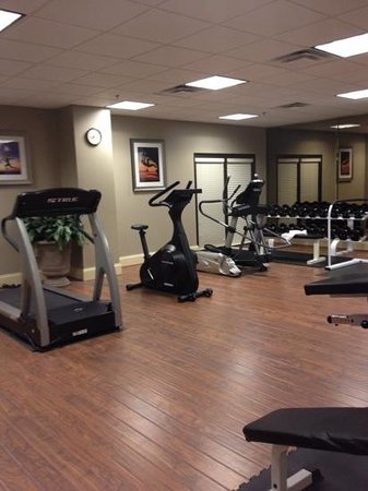 Holiday Inn Express & Suites : Fitness room