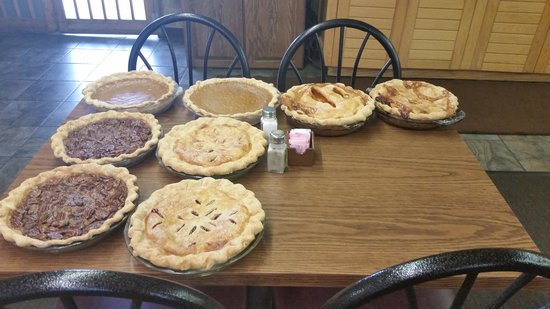 Made From Scratch: Homemade pies cooling on the table. Yummy.